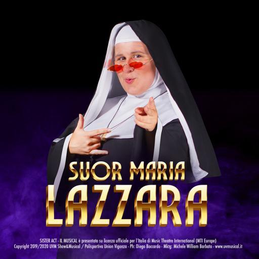 sister act musical suor maria lazzara