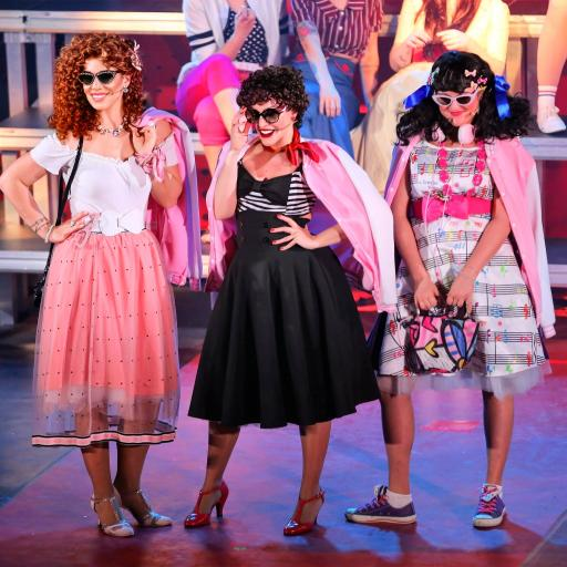 pink ladies grease musical italia uvm